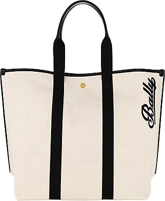Bally Tote - Canvas Tote Bag Medium Natural - beige - Tote for ladies
