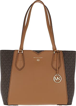 Michael Kors Mae MD Tote Brown/Acorn
