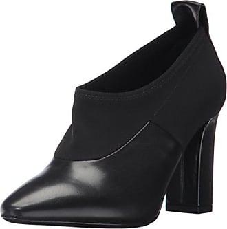 Via Spiga Womens Bayne Ankle Bootie, Black Leather, 9.5 M US
