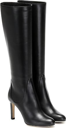 Jimmy Choo London Tempe 85 leather knee-high boots