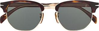 David Beckham Óculos de sol Wayfarer - Marrom