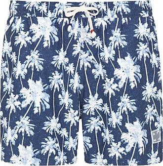 Altea Badehose mit Muster von Altea in Blau für Herren