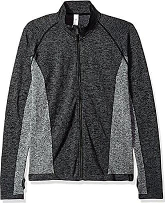 hpe clothing Mens Cross X Seamless 2.0 Jacket, Charcoal, M