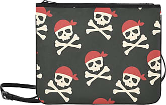 Yushg Crossbody Bags Kids Cartoon Creative Colorful Pirate Adjustable Shoulder Strap Travel Bag Clutch For Women Girls Ladies Canvas Shoulder Bag Shoulder B