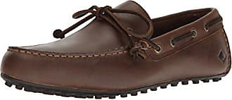 Sperry Top-Sider Sperry Mens Hamilton II 1-Eye Driving Style Loafer, Dark Brown, 8.5 Wide US