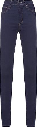 Levi's Calça Mile High Super Skinny - Azul