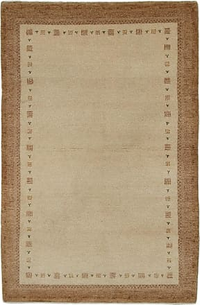 Nain Trading 185x125 Gabbeh Rug Modern/Design Beige/Brown (Hand-Knotted, Wool, Indien)