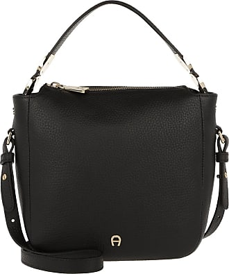 b565f15c71b6b Aigner Roma Hobo Bag Black Umhängetasche schwarz