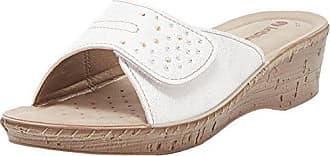 EU Rigata 001 Inblu Blanc Inblu 40 Tongs Bianco Femme 8A6nAUfq