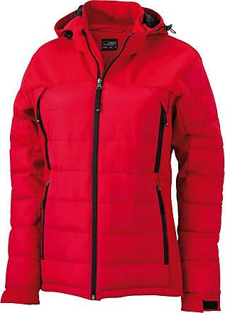 James & Nicholson JN1049 Ladies Outdoor Hybrid Jacket red Size XXL