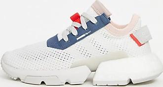 adidas Originals – POD – Sneaker in Weiß und Blau