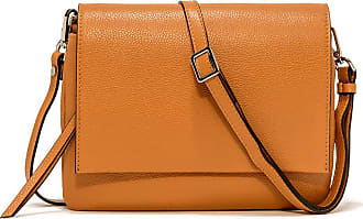 Gianni Chiarini large size three crossbody bag color orange