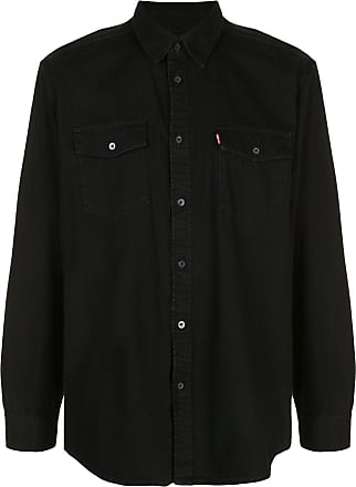 Wardrobe.NYC Camisa jeans x Levis Release 04 - Preto