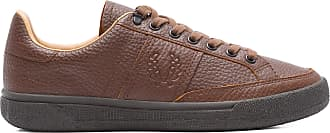 Fred Perry TÊNIS MASCULINO LEATHER - MARROM