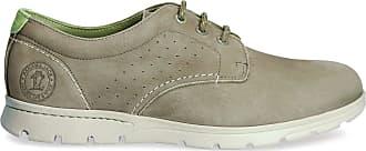 Panama Jack Mens Shoes Domani C20 Nobuck Kaki/Khaki 40 EU