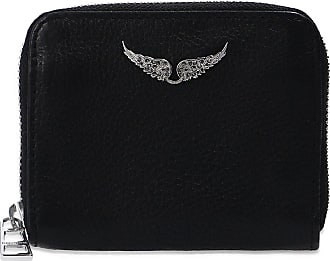 Zadig & Voltaire Wallet With Logo Womens Black