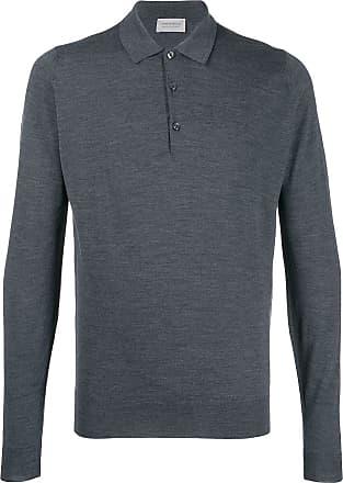 John Smedley Camisa Belper - Cinza