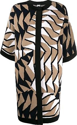 M Missoni knitted coat - Marrom