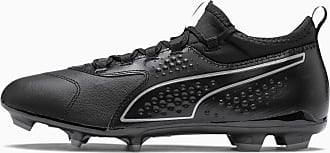 Puma One 3 Leather FG Mens Football Boots, Black, size 7.5, Shoes