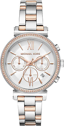 Michael Kors MK6558 Sofie Jetset Watch Silver