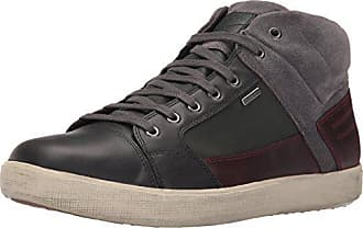 Geox Mens Mtaikibabx1 Rain Shoe, Anthracite/Grey, 46 EU/12.5 M US