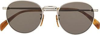 David Beckham Óculos de sol redondo - Prateado
