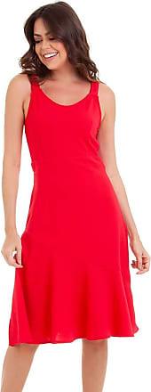 Kinara Vestido Malha Crepe com Recorte-P