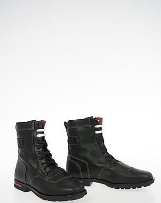 Diesel Leather DOGTAG D-OGTAG OXB LACE Ankle Boots Größe 41