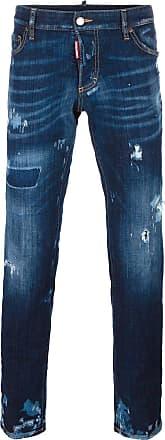 Dsquared2 distressed slim-fit jeans - Blue
