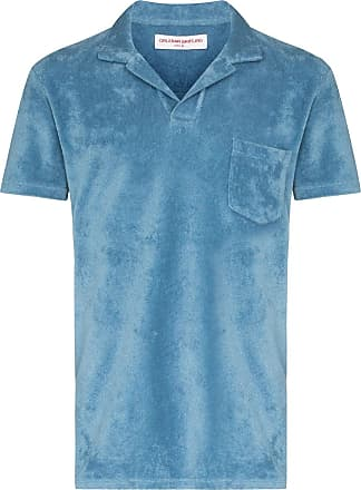 Orlebar Brown Terry towel polo shirt - Blue