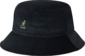 Kangol Cord Bucket Hat (Black Bk), Small (Manufacturer Size: S)