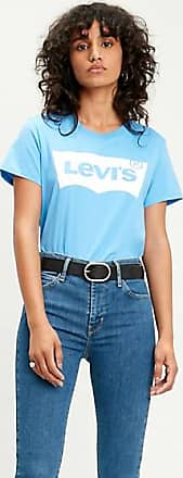 Levi's The Graphic Perfect Tee - Blue