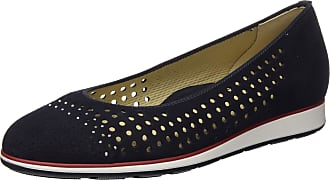 Ara Womens Sardinia Closed Toe Ballet Flats, Blue 08, 5.5 UK