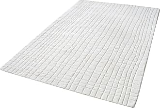 Dimond Home Blockhill Handwoven Wool Rug In Cream - 5ft x 8ft