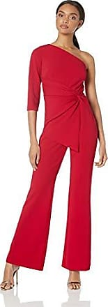 Adrianna Papell Womens Knit Crepe ONE-Shoulder JUMPST