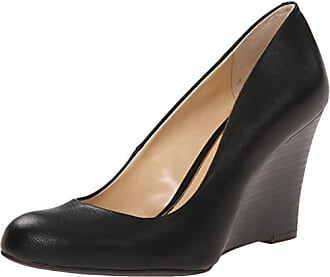 Jessica Simpson Womens Cash Wedge Pump,Black Patent, 6.5 M US