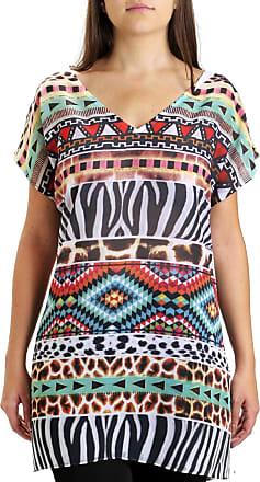 9ab3b8153a 101 Resort Wear Blusa 101 Resort Wear Tunica Saída Étnico Laranja