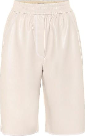 Nanushka Yolie faux-leather Bermuda shorts