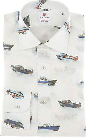Cordone 1956 Camicia Edizione Limitata Mod. Melbourne White - Realizzata a macchina - Fatta in Italia