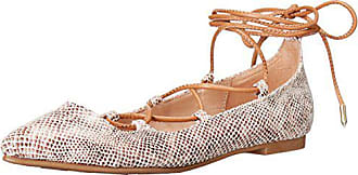 Chinese Laundry Womens Endless Summer Ghillie Flat, Natural Snake, 10 M US
