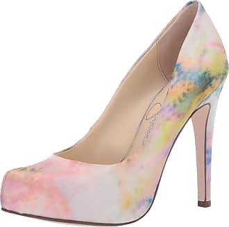 Jessica Simpson Womens Parisah Pump, Pink Combo Tie Dye, 4.5 UK