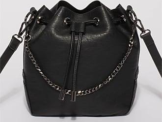 Colette by Colette Hayman Black Jess Chain Bucket Bag With Gunmetal Hardware 2e0e69e759