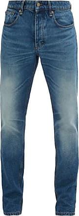 Ami Ami - Faded Slim-fit Jeans - Mens - Denim