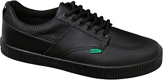 Kickers Mens Tovni Flex Black Leather AM Casual School Shoes 1-15873 (Numeric_10_Point_5)