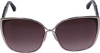 Jimmy Choo London Sonnenbrille Oversized MATY/S 17FXQ Acetat rosé