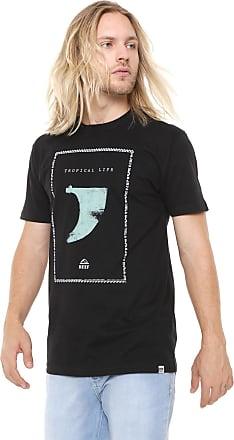 Reef Camiseta Reef Kell Preta