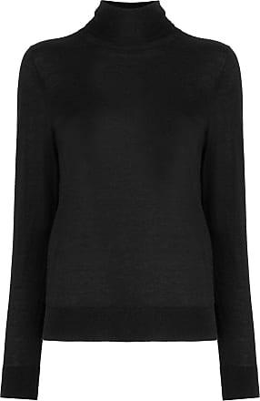 N.Peal roll neck jumper - Black