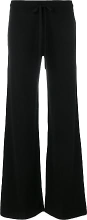 Pringle Of Scotland flared knitted trousers - Preto
