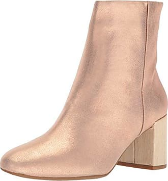 4c42ecaf353 Taryn Rose Womens Cassidy Powder Metallic Ankle Boot Open Pink 5 M M US