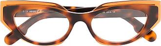 Kenzo Armação de óculos gatinho de acetato - Marrom